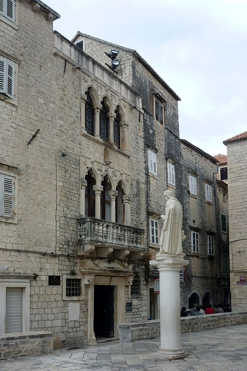 cipiko palace in trogir