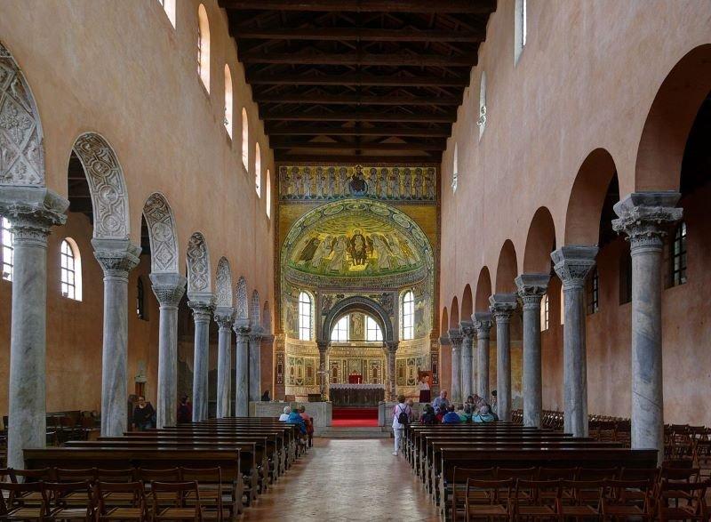 Episcopal Complex of the Euphrasian Basilica in the Historic Centre of Porec (1997)