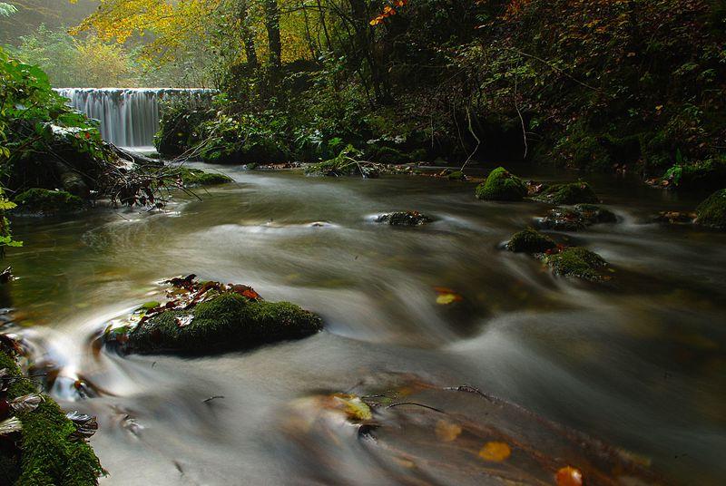 Žumberak waterfalls in croatia