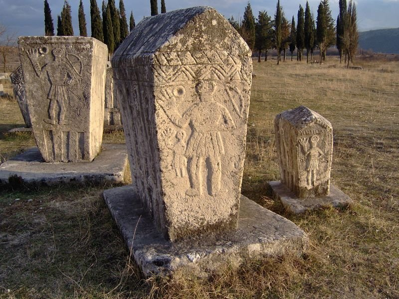 Stecci Medieval Tombstones Graveyards (2016)