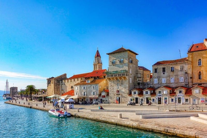 Trogir historic center