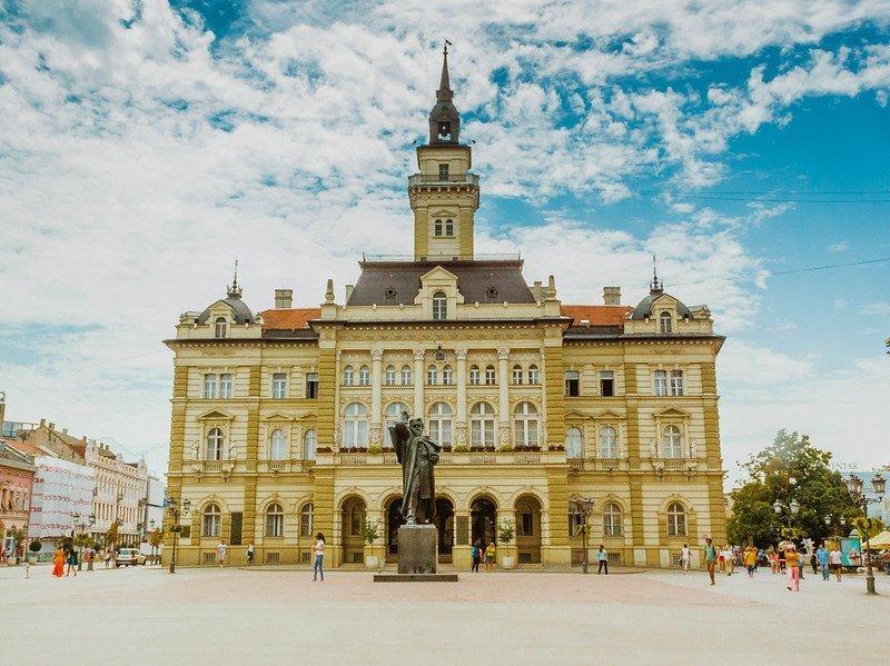 Novi Sad city centre