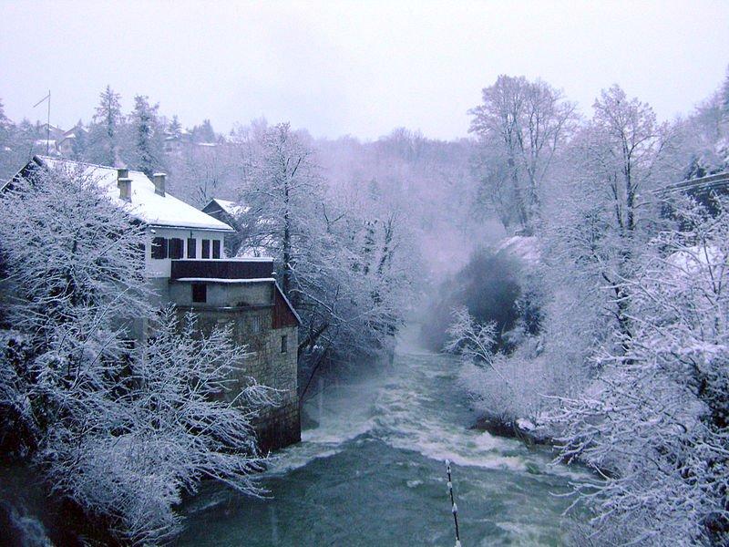 winter in croatia